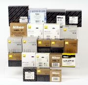Quantity of NEW Nikon Lens Hoods.