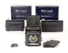 Rittreck II-A 120 SLR with Luminant 10.5cm Lens.
