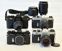 Pentax Screw Mount Cameras & Lenses.