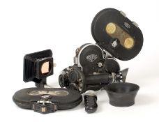 Arriflex 16 Cine Camera with Cinegon 10mm f1.8 lens.