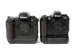 Nikon D100 & D1 DSLRs.