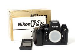 Nikon F4 Auto Focus Film Camera Body.