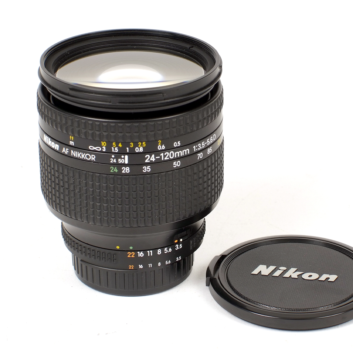 Lot 47 - Nikkor AF 24-120mm f3.5-5.6 D Zoom Lens.