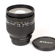 Nikkor AF 24-120mm f3.5-5.6 D Zoom Lens.