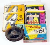 Five 16mm Colour and B&W Cine Films.