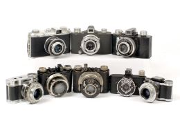 Small French & Other Film Cameras.