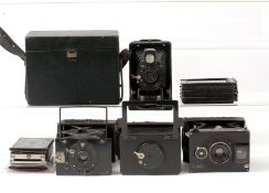 Ernemann Liliput & Other Small Folding Plate Cameras.