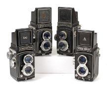 Rare Nikkenflex & Other TLR Cameras.