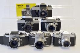 Group of Six German SLRs.