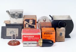 A Rare Ensign 'Turnher' Film Developing Tank & Other Darkroom Equipment.