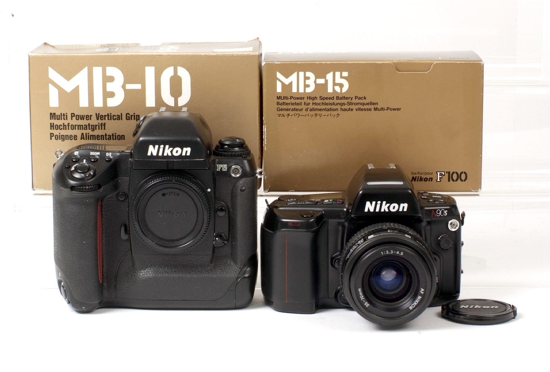 Lot 12 - Nikon F5 & Other Camera Bodies etc.