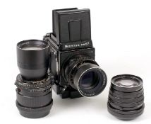 Mamiya RB67 Professional S Outfit.