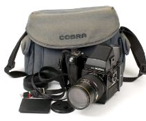 Bronica SQ-AM with 200mm Lens, Prism Finder & Winder.