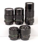 Canon 85mm f1.8 & Other FD Telephoto Lenses.