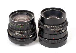 Mamiya RB67 Wide Angle & Portrait Lenses.