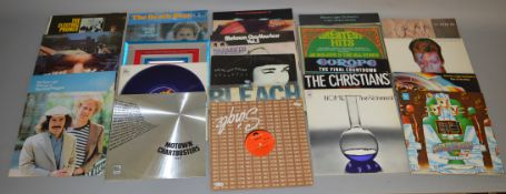 Collection of LPs including Raymond Froggatt band, Electric Prunes, Simon and Garfunkel, David