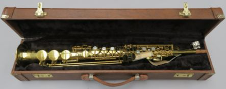 Julius Keilwerth Toneking Soprano Saxophone made in Germany serial number 73097 from the 1970's in