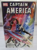 Stan Lee signed Captain America #600 limited edition 13/25 with Dynamic Forces Certificate of