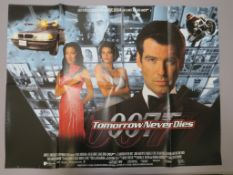 Tomorrow Never Dies, For your eyes only (1981) plus two James Bond commercial posters for ""
