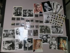 Marilyn Monroe Pictorial Press 15 transparencies (3x2.5) plus 24 archival prints, 3 transparencies