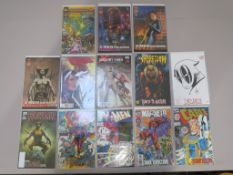 Marvel X-Men signed comics including X-Men #2 signed by Chris Claremont (13/25), X-Men #25 signed by