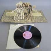 Jethro Tull Stand Up Island pink label stereo ILPS 9103 first pressing gatefold sleeve pop-up inside