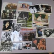 Various stills and lobby cards including To the Devil a Daughter, Vengeance of She, Lust for a