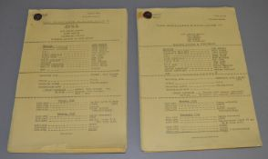 The Morecambe & Wise Show original TV scripts for episode 9 from Tuesday 31st October 1972 and