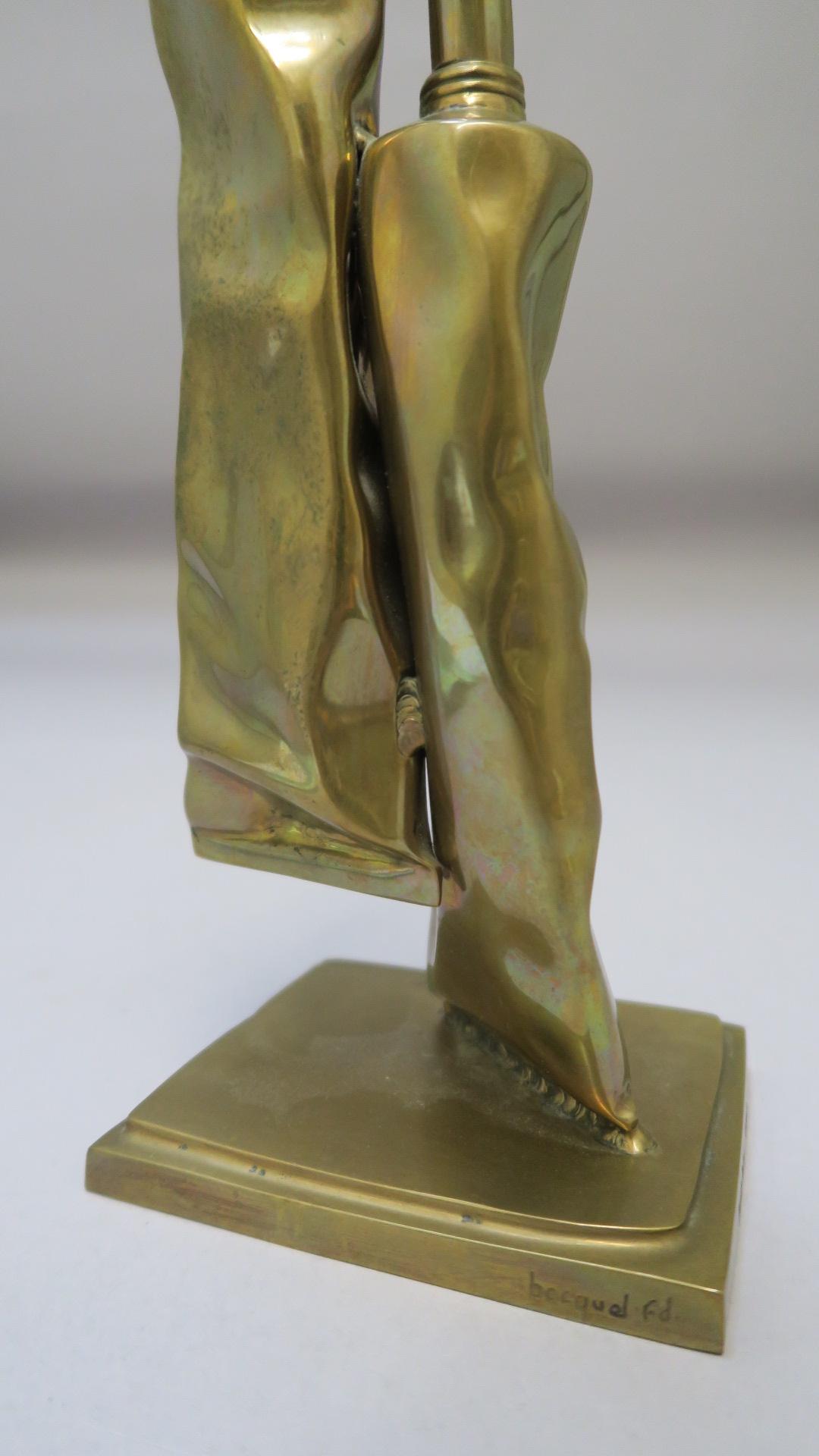 "Lot 33 - Timothy Dalton Brass TV Award inscribed ""FIPA D'OR CANNES 1994 / Series et Feuilletons"