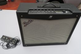Fender Mustang IV Guitar Amplifier with two Celeston 12 inch built in speakers and open back plus