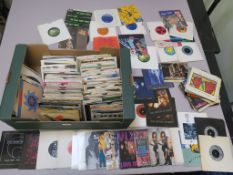 7 inch singles including Plastic Ono Band, Sisters of Mercy, Blow Monkeys, Vixen + backstage pass,
