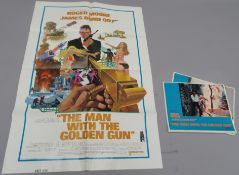"James Bond ""The Man with the Golden Gun"" original East Hemisphere one sheet film poster picturing"