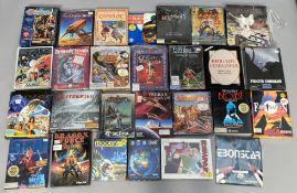 27 boxed Commodore Amiga games console games. (27) [NO RESERVE]