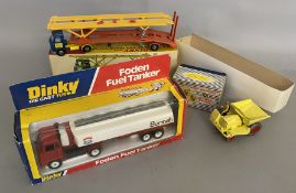 3x boxed Dinky Toys - 374, 950, 962.
