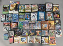 42 boxed Commodore 64 (C64 CBM 64) games console games. (42) [NO RESERVE]
