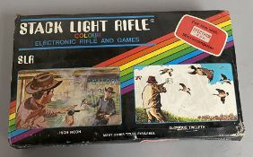 SLR Stack Light Rifle electronic rifle and games for use with Sinclair ZX Spectrum Microcomputer, in