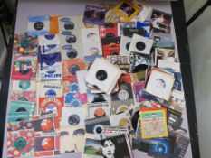 Collection of 7 inch singles including The Shadows, Burt Weedon, Dusty Springfield, The