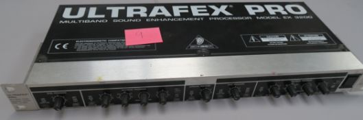 Ultrafex Pro Ex 3200 Multiband sound enhancement processor. Tested and in working condition. (1)