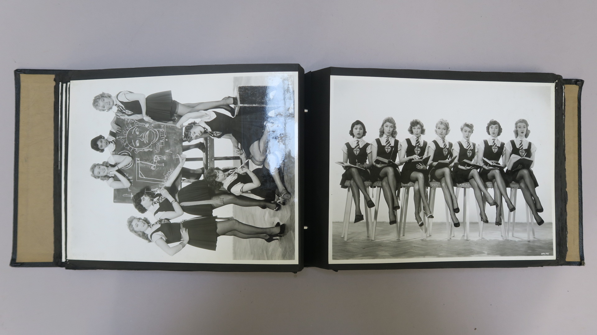 Lot 45 - Blue Murder at St. Trinian's (1957) original key book of black & white publicity stills by