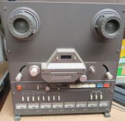 Tascam 38 1/2 inch tape 8 track Reel to Reel Recorder /Reproducer. Not tested. (1)