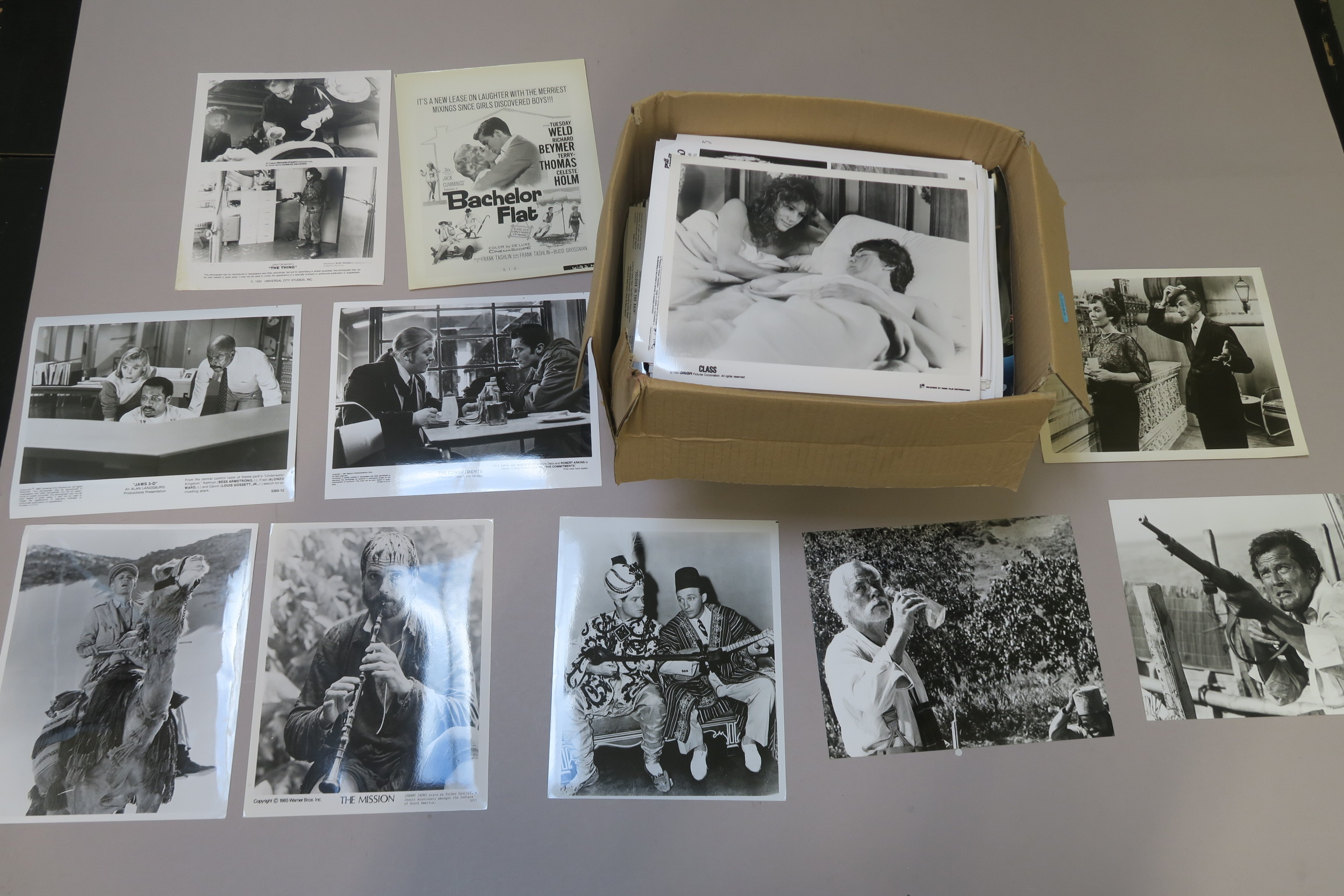 Lot 55 - Approximately 800+ film stills (8 x 10 inch) picture of vintage, archive and prints titles including