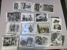 Vintage Western genre cinema stills (approx 600) in various conditions and ages stars include