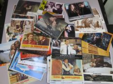 Various collection of approximately 220 11 x 14 inch lobby cards including Straw Dogs x2, Lola,