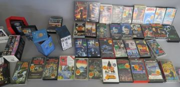 Horror and Sci Fi video collection directly from a closed video shop in the 1990s and offered for