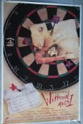 Withnail & I original 1986 US one sheet film poster in rolled condition with artwork by Ralph