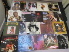 "Jimi Hendrix 24 vinyl records including Argentinean ""Get that Feeling"" with Curtis Knight Groove"