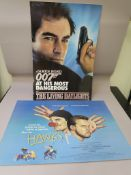 Timothy Dalton James Bond The Living Daylights original cinema standee from 1986 (measuring 27 x