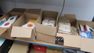 7 inch singles groups include ELO, The Paramounts, Little Richard, Shirley Bassey (picture