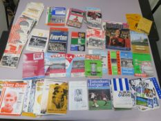 Collection of football programmes incl. Cup Final one signed Cradley Heath Speedway programme,