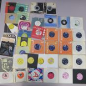 Various 7 inch singles including The Rolling Stones, The Seekers, The Selecter, Sounds Orchestral,